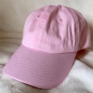 🎊 HP 🎊 UO Rose Solid Curved Brim Baseball Hat